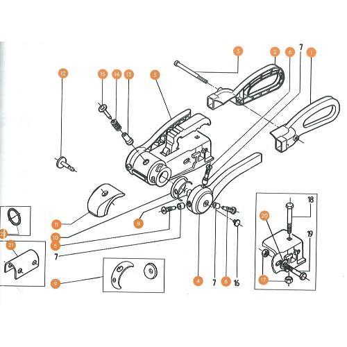 CR10S//10S Pro Ender 5//5 Plus//Pro CR 20 CR-10 Sovol Lot de 4 /écrous de nivellement en aluminium bleu avec 8 ressorts de pression pour lit chaud Ender 3//3 Pro//3 V2
