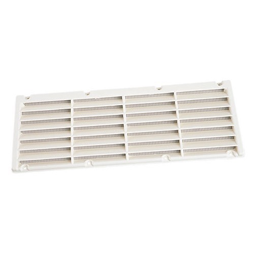 grille a ration plastique 365x140 mm blanche equipements pour camping cars. Black Bedroom Furniture Sets. Home Design Ideas