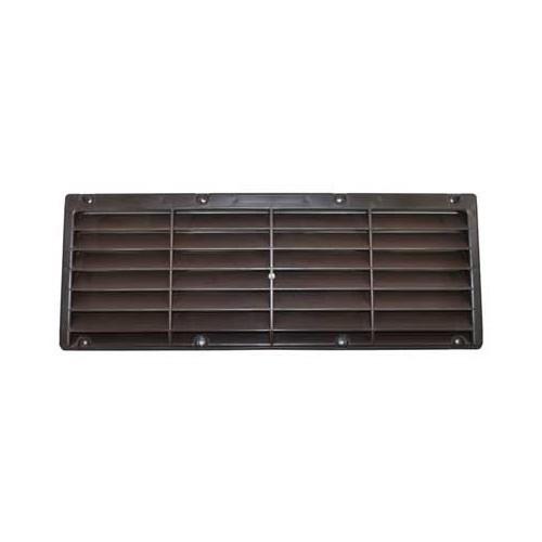 Brown plastic ventilation grille 365x140 mm equipment rv - Grille ventilation fenetre ...