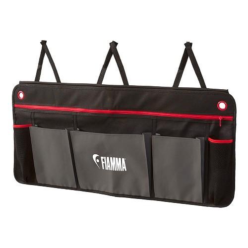 Zoom sur Pack ORGANIZER L FIAMMA - Noir et rouge