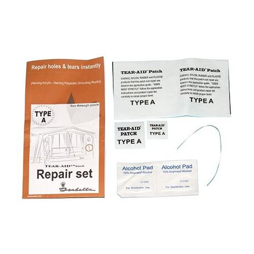 kit de r 233 paration de toile acrylique pour auvents et tentes type a