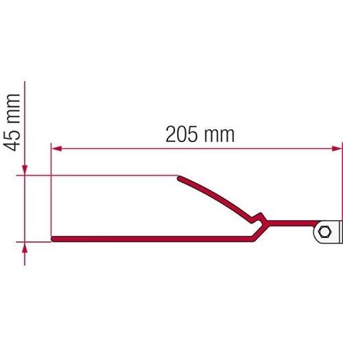 Zoom sur Adaptateur B pour stores F45S & F70 Fiamma