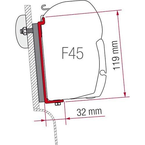 Zoom sur Adaptateur KIT HIGH ROOF WESTFALIA pour stores F45S Fiamma