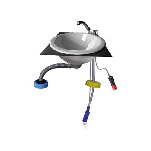 Kit vier ext rieur avec pompe 12v equipements pour for Table exterieur pour camping car