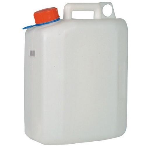 Zoom sur Bidon 10l plastique alimentaire sans robinet Ø 40 mm