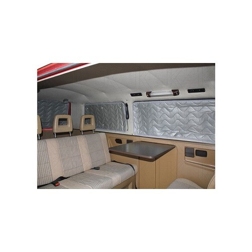 8 thermische isolerende gordijnen aan de binnenkant voor transporter t3 79 92 roadloisirs