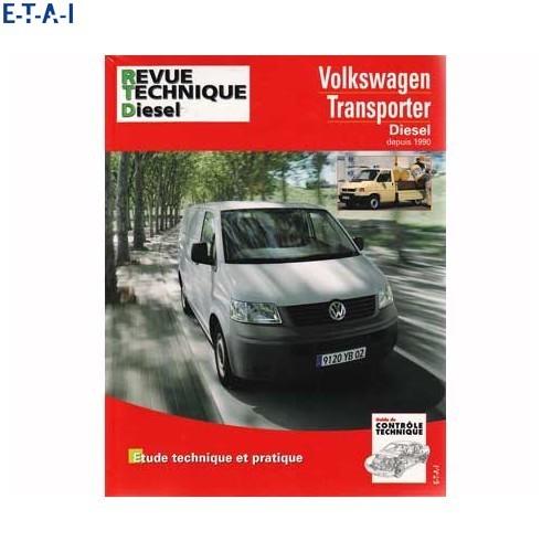 revue technique automobile pour volkswagen transporter 90. Black Bedroom Furniture Sets. Home Design Ideas