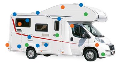 Camping car schéma