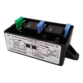 High capacity coupler splitter high capacity 50A Scheiber 3 batteries with fridge relay