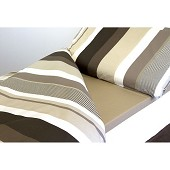 Couchage Duvalay Coffee Cream 66 x 190 x 2.5 cm